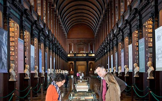 Long Library at Trinity College