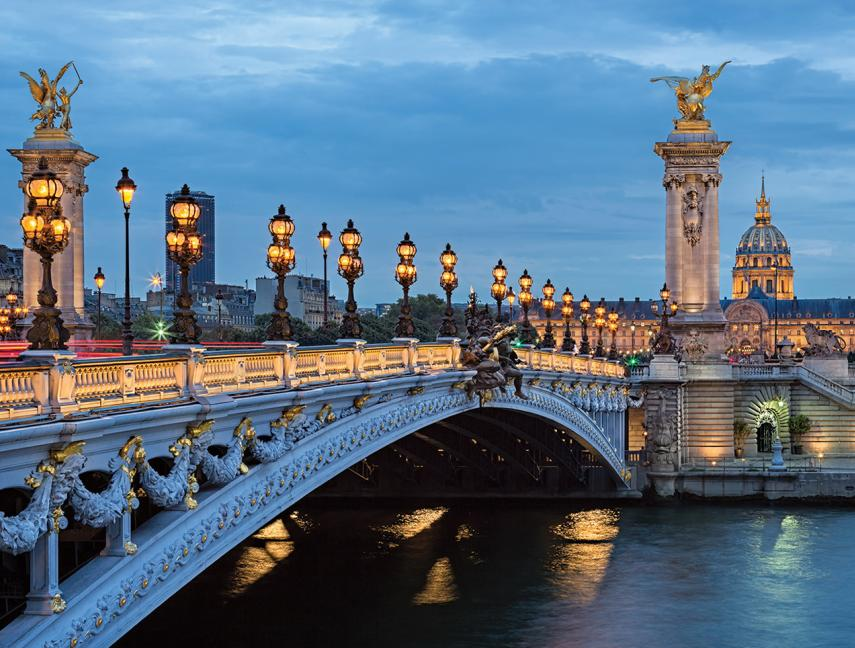 Alexandre Bridge in Paris