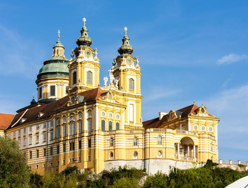 Benedictine Monastery in Melk