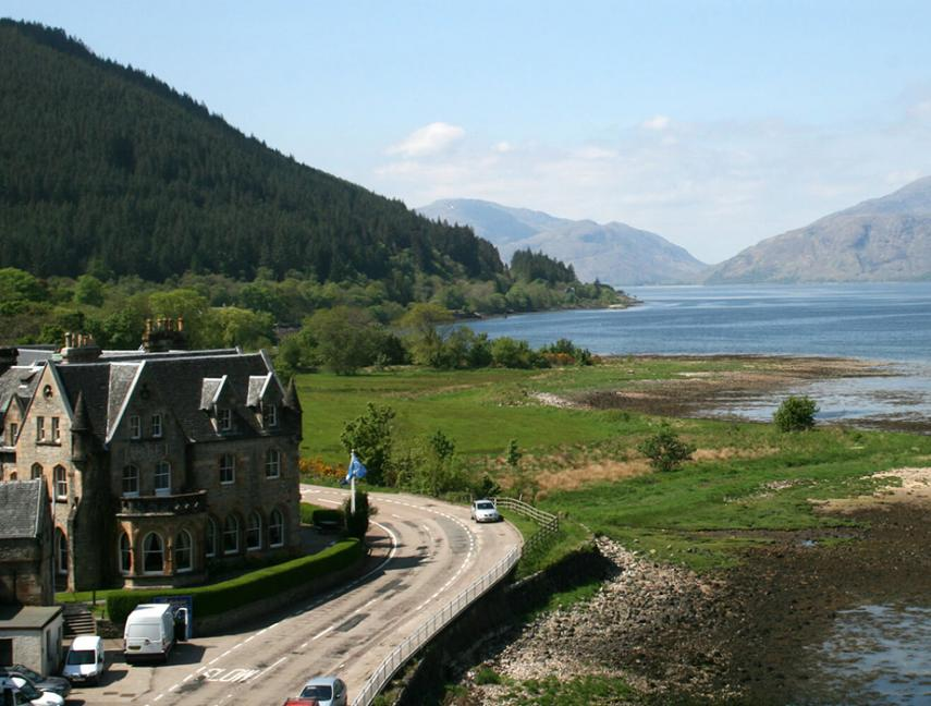 Ballachulish Hotel on Loch Linnhe