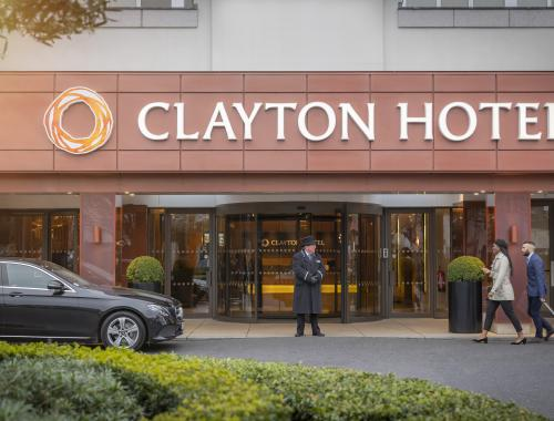 Clayton Hotel Burlington Road entrance