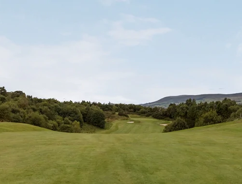 Fairway View of Golf Course