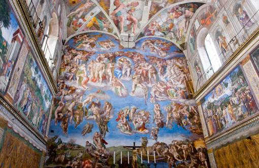 Michelangelo's Ceiling in the Sistine Chapel