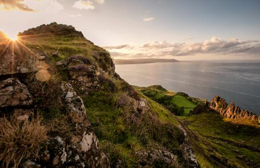 Nine Glens of Antrim in Ireland—from Game of Thrones