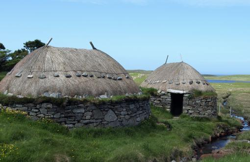 Iron Age House and Bosta Beach