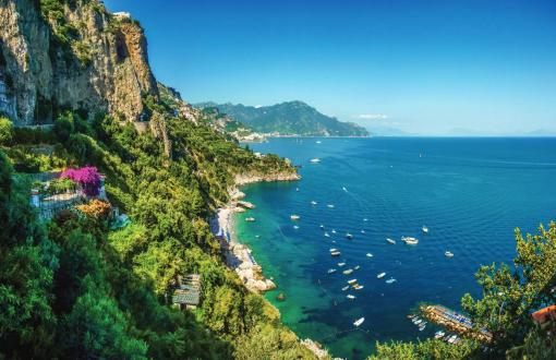 Isle of Capri in Italy