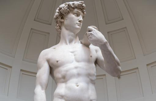Michelangelo's Statue of David in Florence