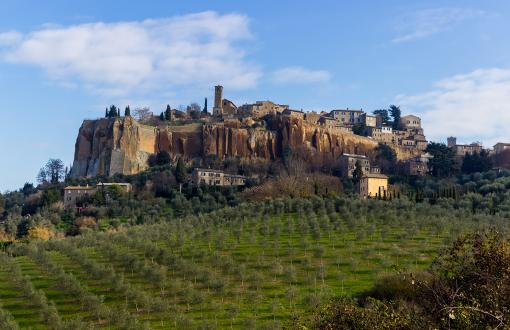 City of Orvieto in Italy