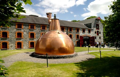 Jameson Distillery in Ireland