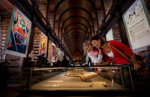 Book of Kells in Dublin Ireland