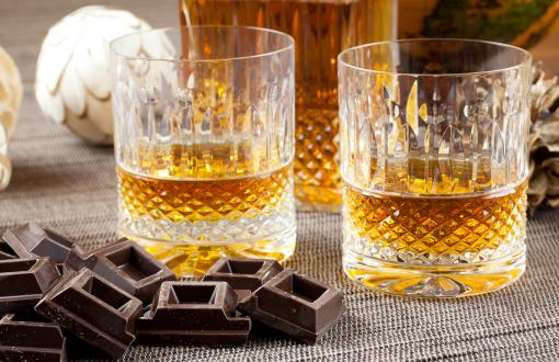 Chocolate and whiskey tasting on an Ireland tour