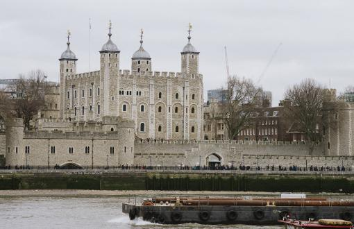 The Tower of London in London England