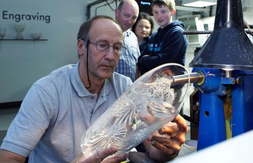 House of Waterford Crystal in Ireland