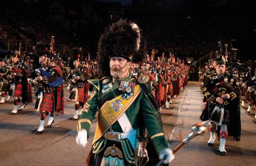 Royal Edinburgh Military Tattoo in Edinburgh, Scotland