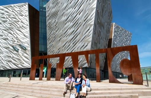 Titanic Belfast in Ireland